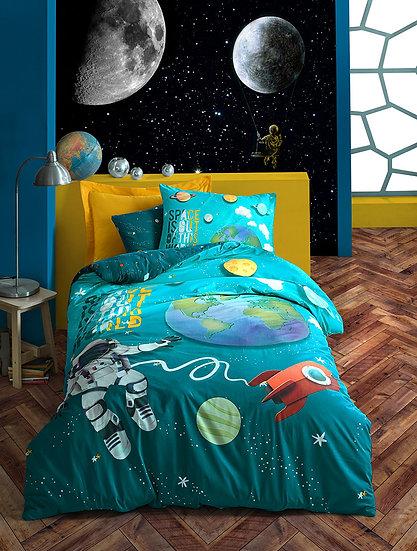 Παιδικό σετ παπλωματοθήκη SPACE MADI ΜΟΝΗ