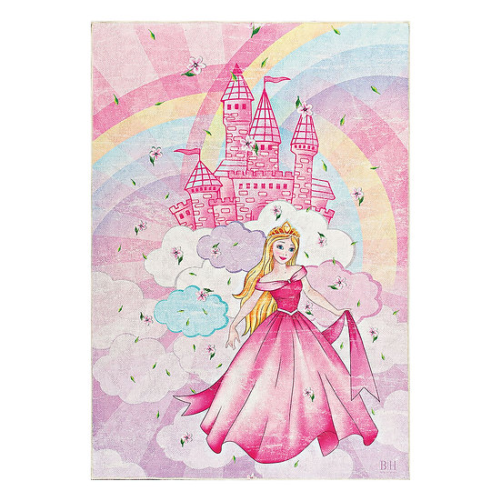 Χαλί Cool Art 9521 - 120x180 Ροζ Beauty Home
