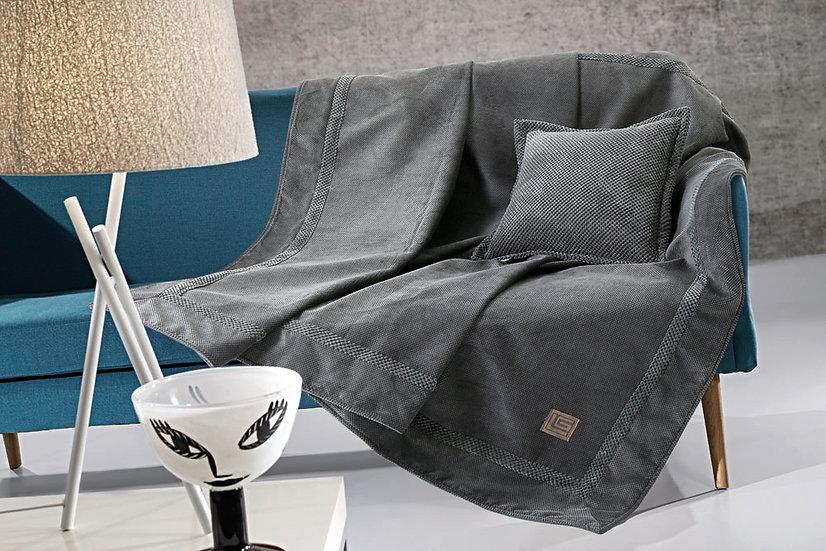 Ριχτάρι διθέσιου καναπέ RUBICON ANTHRACITE 170x250