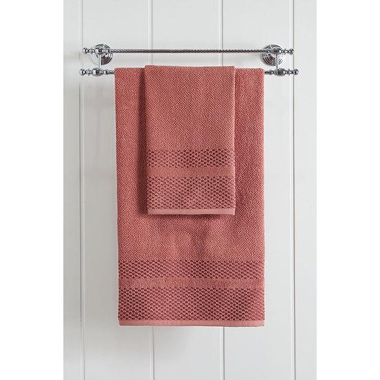 Πετσέτα μπανιου  Art 3228 - 70x140  Κόκκινο Beauty Home