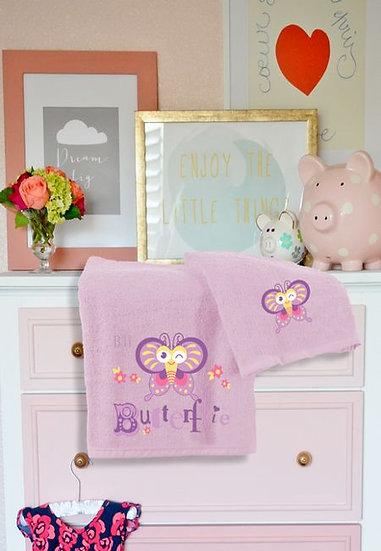 Βρεφικές πετσέτες BEAUTY HOME-Art 5079 Buterfly