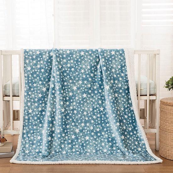 Κουβέρτα κούνιας art 5136 110x140 ciel