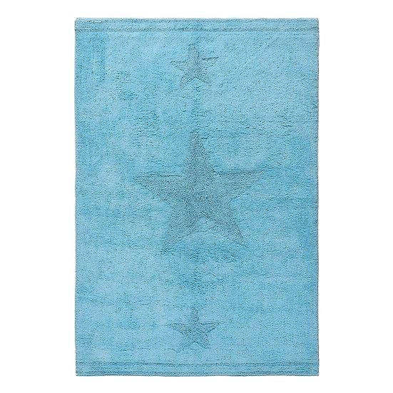 Χαλί βαμβακερό Cottony Art 9555 Σιέλ 120x180 Beauty Home