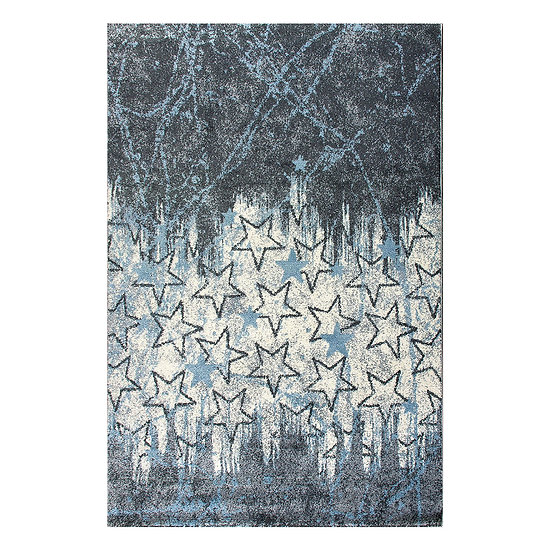 Χαλί Yolo Art 9510 Blue - 165x225 Γαλάζιο Beauty Home