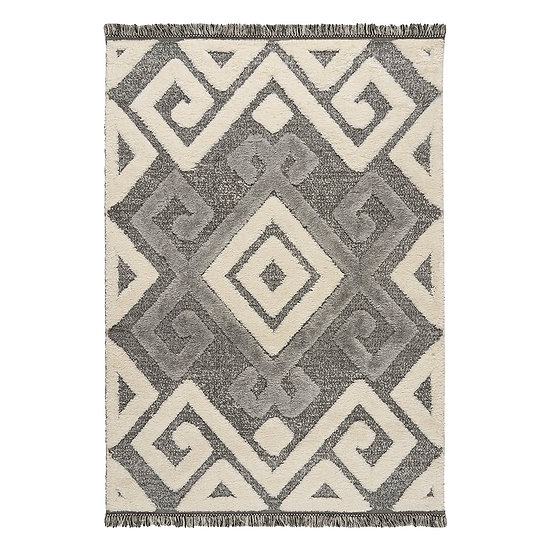 Χαλί Everest Art 9621 Anthracite/Cream - 165x230 Γκρι, Εκρού Beauty Home