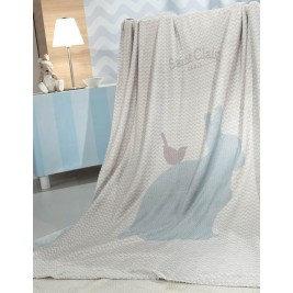 Κουβέρτα Saint Clair Ultrasoft Lapin blue