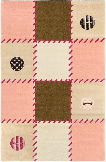 Χαλί  Saint Clair Patchwork Pink
