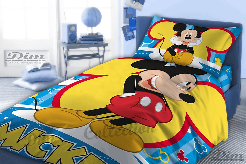 Σεντόνια Μονά (Σετ) Dim Collection Mickey 560