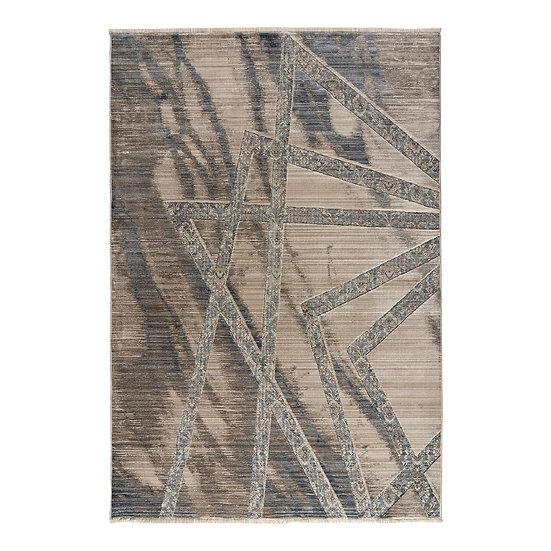 Πατάκι Bliss Art 9626 0.67x1.30 - 0.67x1.30 Μόκα, Μπεζ, Μπλε Beauty Home