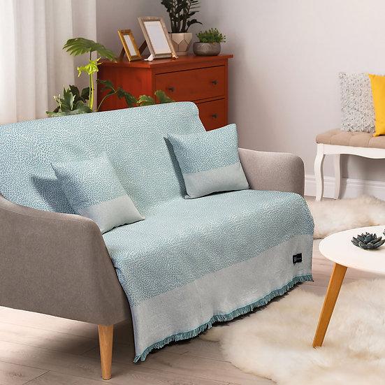 Ριχτάρι Τετραθέσιο Art 8357 180x350 Τετραθέσιο Γαλάζιο Beauty Home
