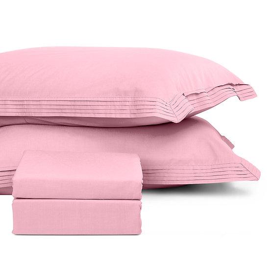 Παπλωματοθήκη μονή μονόχρωμη Non-stop Art 1850  - 160x240 Ροζ