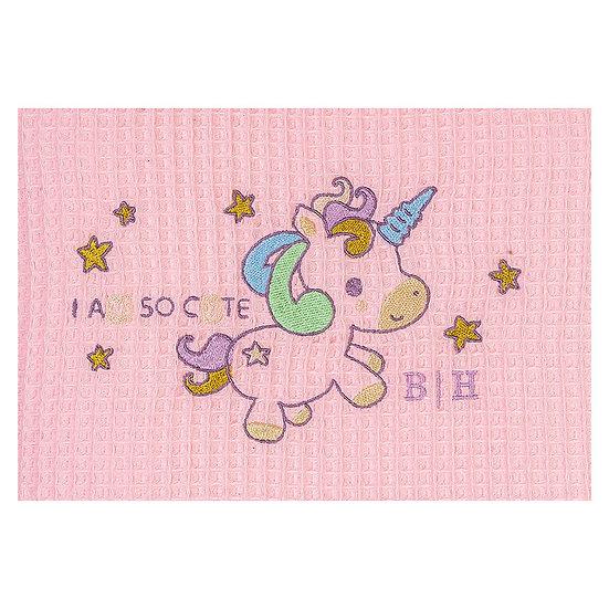 Κουβέρτα πικέ Art 5167 - 120x160 Ροζ Beauty Home