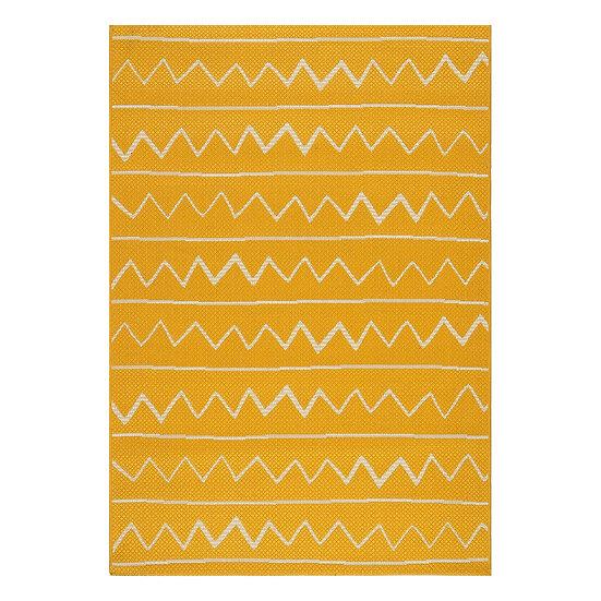 Χαλί Jolly Art 9746 Κίτρινο  - 133x190 Beauty Home
