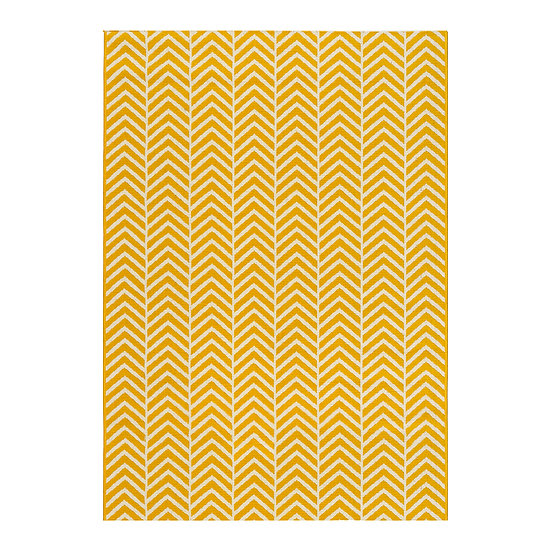 Πατάκι Jolly Art 9760 0.67×1.50 Κίτρινο Beauty Home
