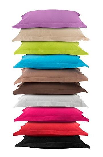 Μαξιλαροθήκες σε 10 χρώματα (ζεύγος) 1380 mix&match