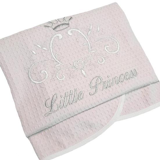 Κουβέρτα Πικέ Κούνιας Baby Oliver Little Princess 100χ140
