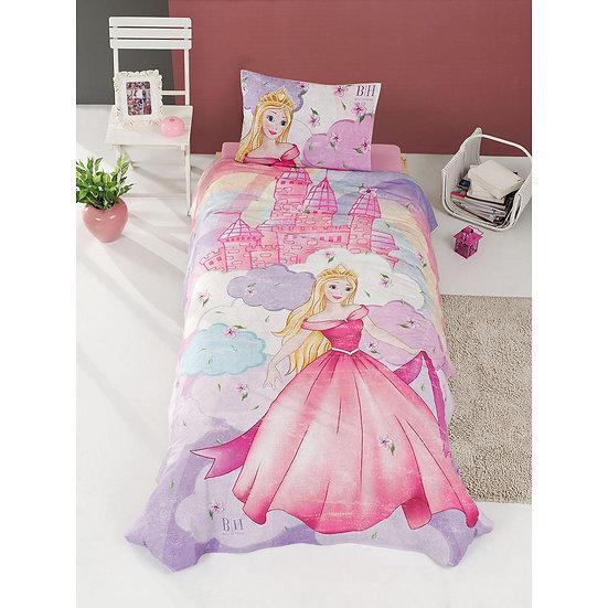 Κουβερλί μονό Fairy Art 6111 - 160x240 Μωβ, Ροζ Beauty Home