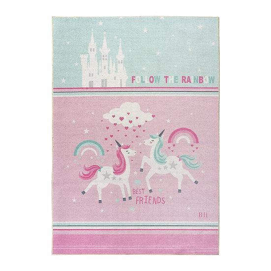 Χαλί Cool Art 9543 - 120x180 Μέντα, Ροζ Beauty Home