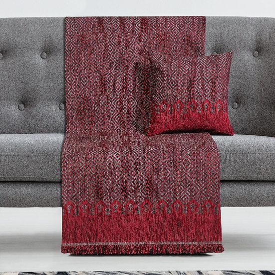 Ριχτάρι Τετραθέσιο Art 8346 180x350 - Τετραθέσιο Κόκκινο Beauty Home