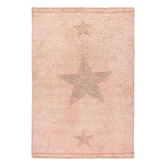 Χαλί βαμβακερό Cottony Art 9555 Ροζ 120x180 Beauty Home
