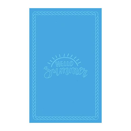 Πετσέτα θαλάσσης Art 2127 80×160 Γαλάζιο Beauty Home