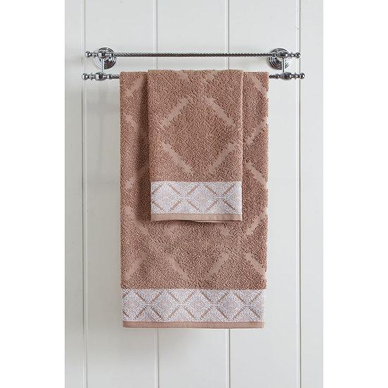 Πετσέτα προσώπου Art 3230 - 50x90 Μπεζ Beauty Home