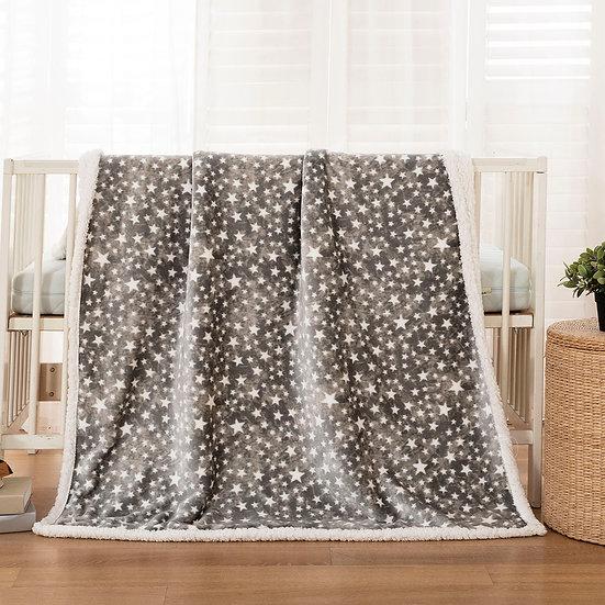 Κουβέρτα κούνιας art 5136 110x140 grey