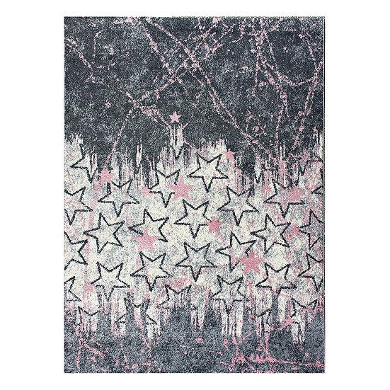 Χαλί Yolo Art 9509 Pink - 133x190 Ροζ Beauty Home