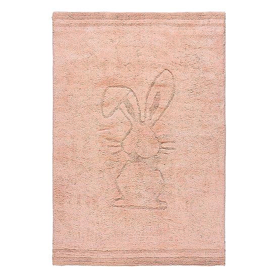 Χαλί βαμβακερό Cottony Art 9551 Ροζ 120x180 Beauty Home