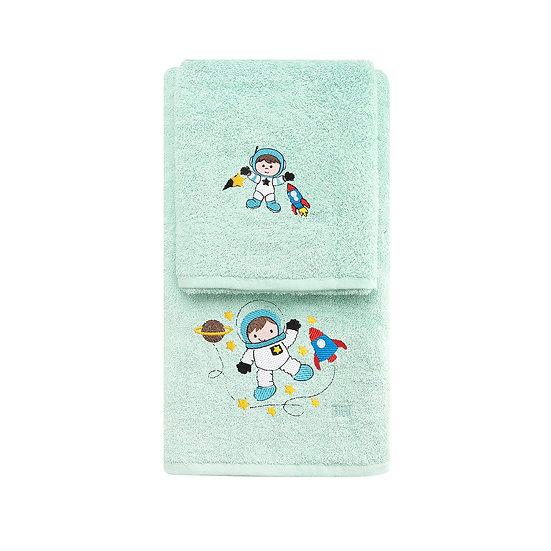 Σετ πετσέτες Art 5205 - Σετ 2τμχ Βεραμάν Beauty Home