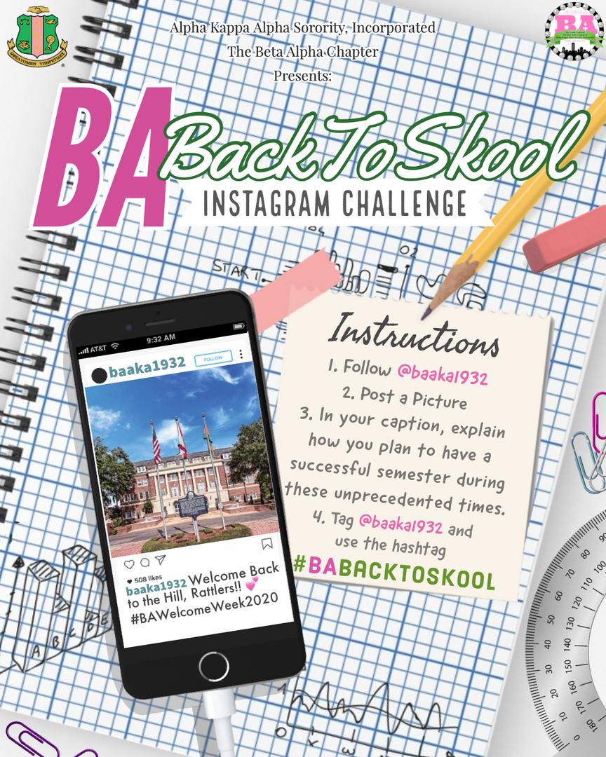 Back to School Instagram Challenge