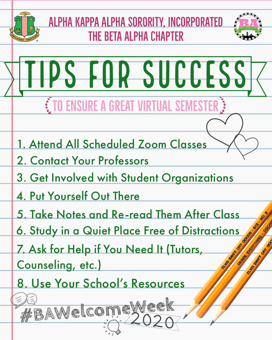 Virtual Semester Survival Guide - Success Tips