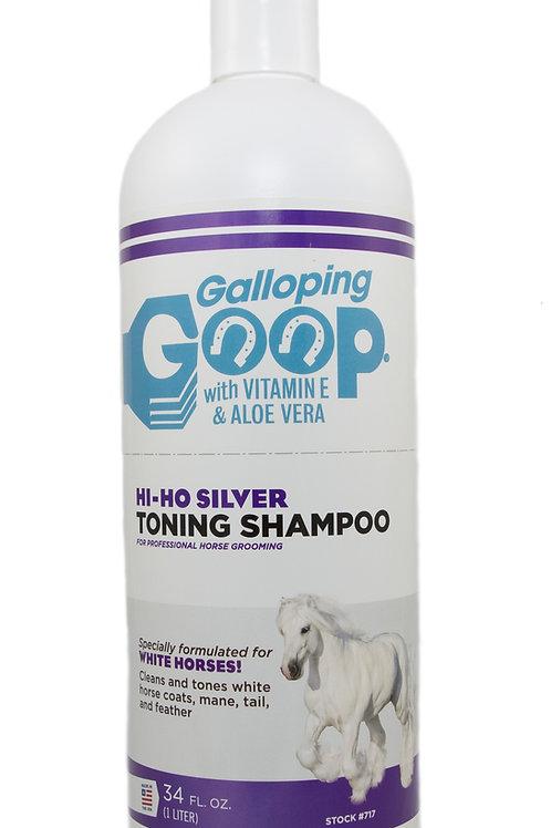 Galloping Goop Hi Ho Silver Toning Shampoo 1ltr