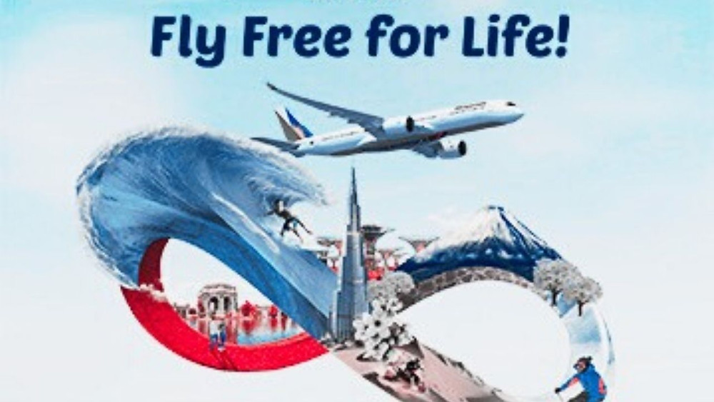 Philippine Airlines Fly Free For Life Promo