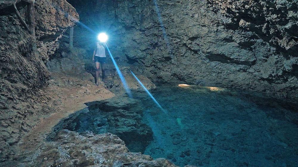 Grottes et cavernes à Camotes Islands , ici Paraiso Cave