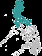Une carte de Luzon Manille pour illustrer mon carnet de voyage