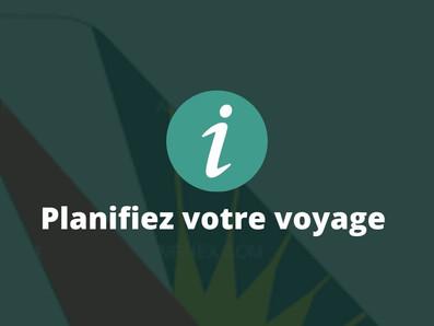 Les horaires avion et ferry en un seul et même endroit • Mai 2021
