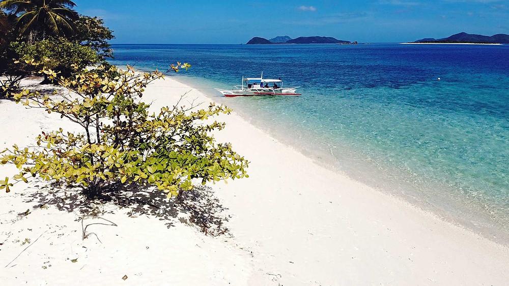 L'île de North Cay à Busuanga en septembre 2020