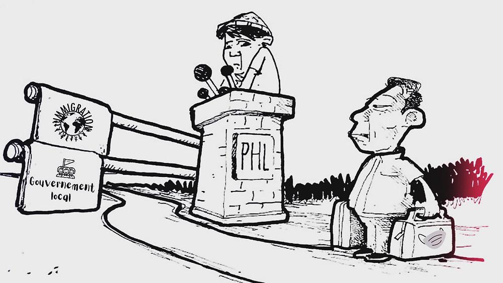 l'actu en dessin Philippines. Réouverture des frontières
