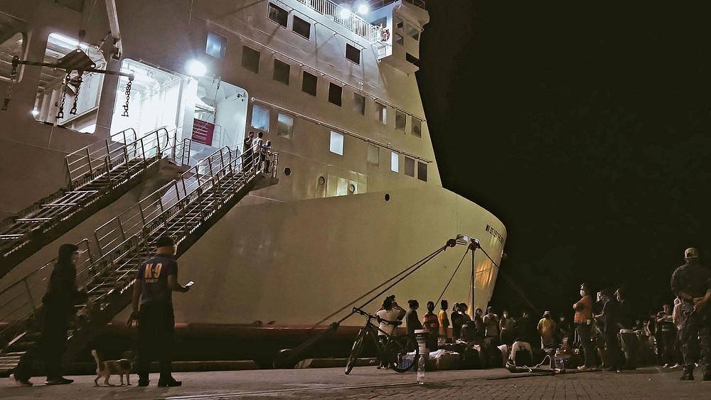 Ferry 2Go, archipel de Busuanga Coron à Palawan, 2021