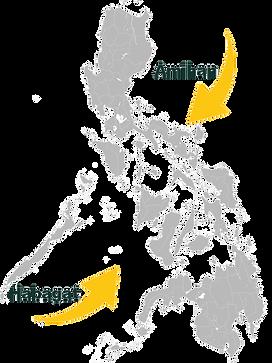 les moussons Amihan nord-est et Habagat sud est asiatique