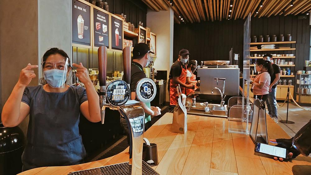 Starbucks, Metro Manila, Pasay City, sevice ambiance