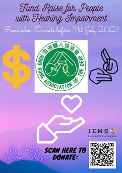 [Fundraising Posters] YL (Sat- Sheldon,