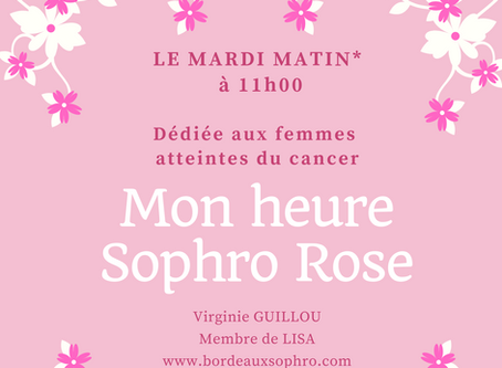 Mon heure Sophro Rose