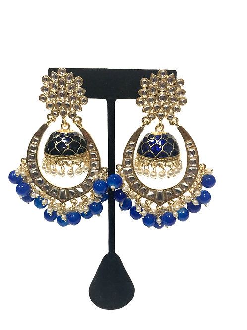 Chandbali Jhumka Earring
