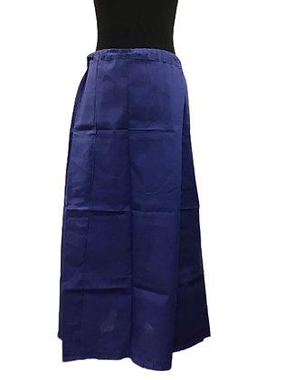 Blue Saree Skirt or Patticoat