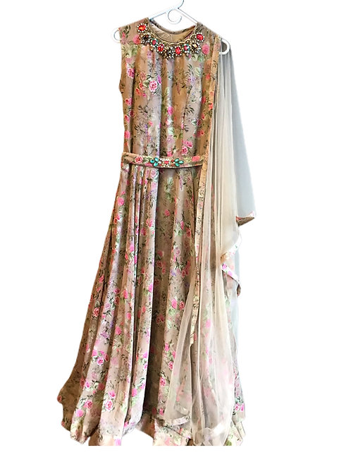 Gorgeous Floral Salwar Suit