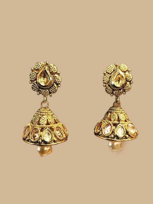 Kundan Jhumka Earring