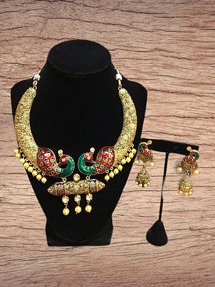 Beautiful Antique Hasli necklace Set