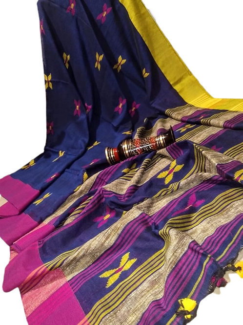 Beautiful Handloom Cotton Weave Saree